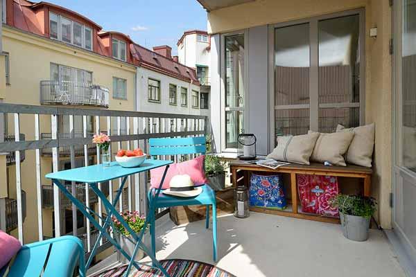 Балкон как зона отдыха: актуальные идеи