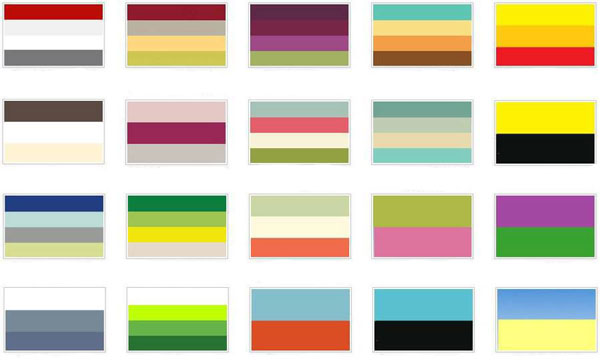 Учимся сочетать цвета в одежде