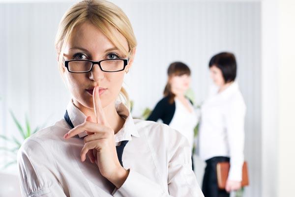 Посторонние разговоры и сплетни на работе