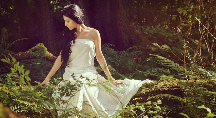 Природная красота женщины