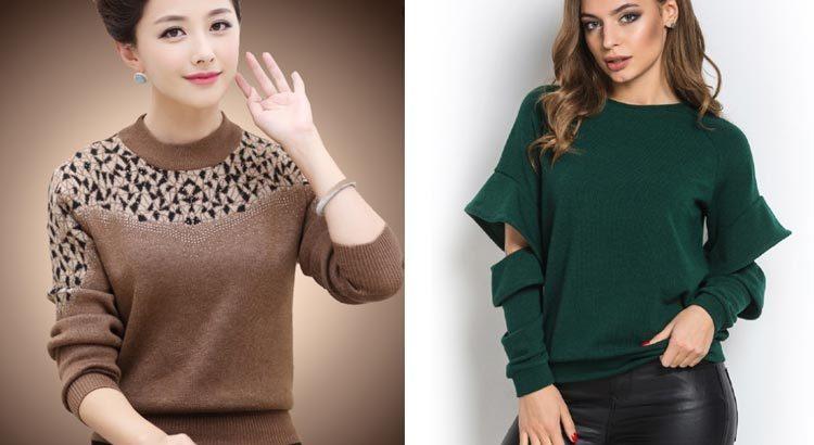 Женские свитера: трендовые фасоны зимы 2019