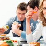 Офисный перекус или обед по расписанию