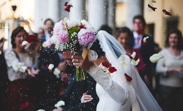 свадебной фотосессии