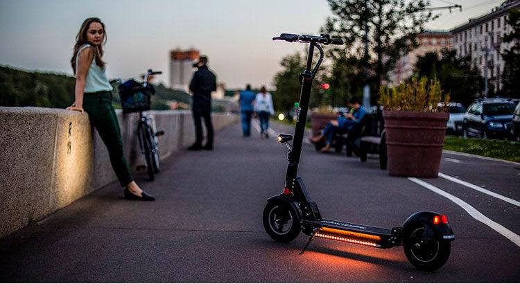 Преимущества городских электросамокатов