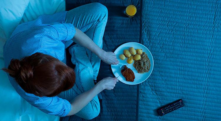 Как перестать есть перед сном