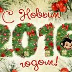 Встречаем Новый Год — Огненной Обезьяны
